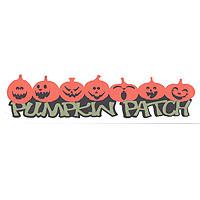 Pumpkin Patch Laser Title Strip - 3 Color!