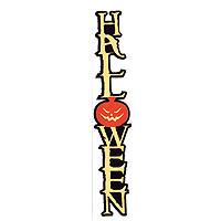 Halloween Laser Cut Vertical Title Strip - 3 Colors!