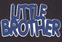 Little Brother 2 Color Laser Die Cut