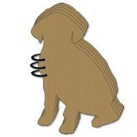 Dog Chipboard Album