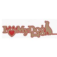 I Love My Dog Title Strip