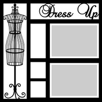 Dress Up - 12x12 Overlay