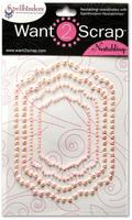 Nestabling Labels Eleven Pink Pearl