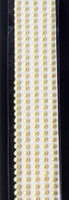 "Sleek Strips 12"" Pearls -  Yellow"