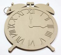 Old Time Alarm Clock - Chipboard Album