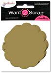 Grand Chipboard Album - Big Scalloped Circles