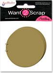 Grand Chipboard Album - Circles
