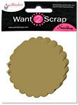 Grand Chipboard Album - Scalloped Circles