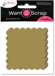 Grand Chipboard Album - Scalloped Squares