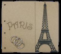 Paris Chipboard Album