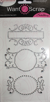 Nestabling Fancy Tags Three - Silver R