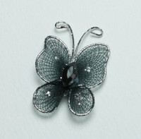 """Butterfly - 1"""" Black"""