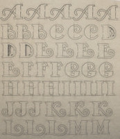 Chipboard Alphabet- Stylish