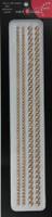 "Sleek Strips 6"" Pearls- Le Creme"