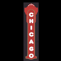 Chicago Sign Title Strip - 3 Color!