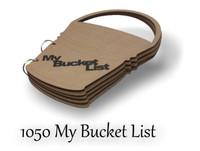 My Bucket List - Chipboard Album