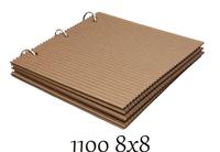 8x8 Corrugated