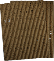 Chubba Bubba - Corrugated Alphabet
