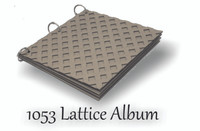 Lattice 8x8 - Chipboard Album