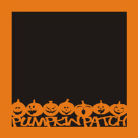 Pumpkin Patch - 12x12 Overlay