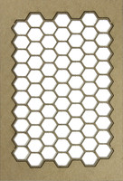 Chickenwire Chipboard Embellishment