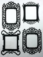 Vintage Fancy Frames - Silhouettes