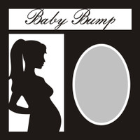 Baby Bump - 12x12 Overlay