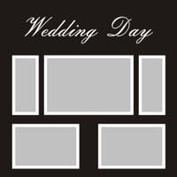 Wedding Day - 12x12 Overlay