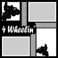 4 Wheelin' - 12x12 Overlay