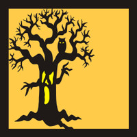 Halloween Tree - 12x12 Overlay
