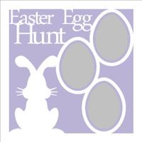 Easter Egg Hunt - 12x12 Overlay