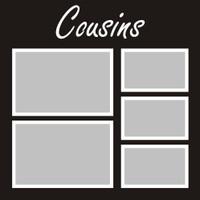 Cousins - 12x12 Overlay