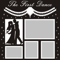 The First Dance - 12x12 Overlay