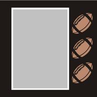 Football - 6x6 Overlay