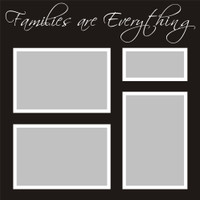 Families Are Everything - 12x12 Overlay