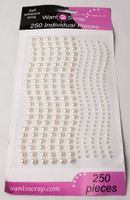 250 Count Pearls White