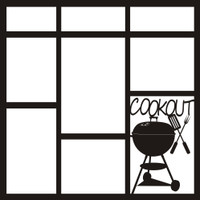 Cookout - 12x12 Overlay
