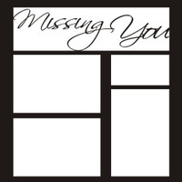 Missing You - 12x12 Overlay