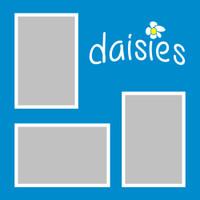 Daisies - 12x12 Overlay