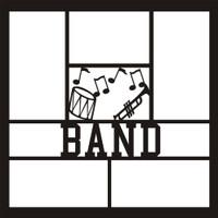 Band- 12x12 Overlay