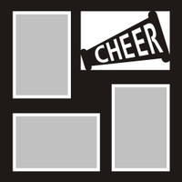 Cheerleading - 12x12 Overlay