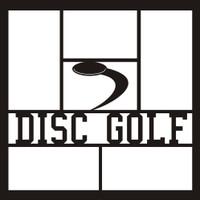 Disc Golf - 12x12 Overlay