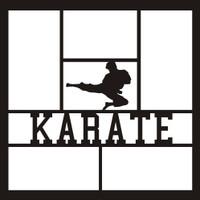 Karate  - 12x12 Overlay
