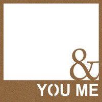 You and Me with Frame Chpd Embellishment