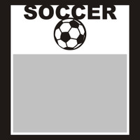 Soccer with Ball - 6x6 Overlay