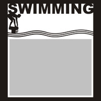 Swimming - 6x6 Overlay