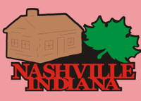Nashville Indiana - Die Cut