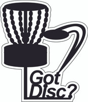 Got Disc - Die Cut