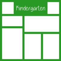 Kindergarten - 12x12 Overlay