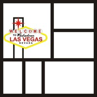 Las Vegas - 12x12 Overlay